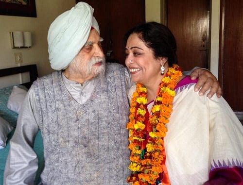 Kirron Kher's Father Dies At 102