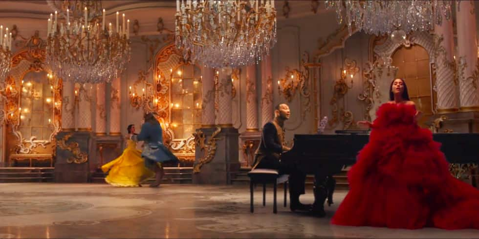 Ariana Grande and John Legend's 'Beauty and the Beast' Music Video Will Leave You Enchanted