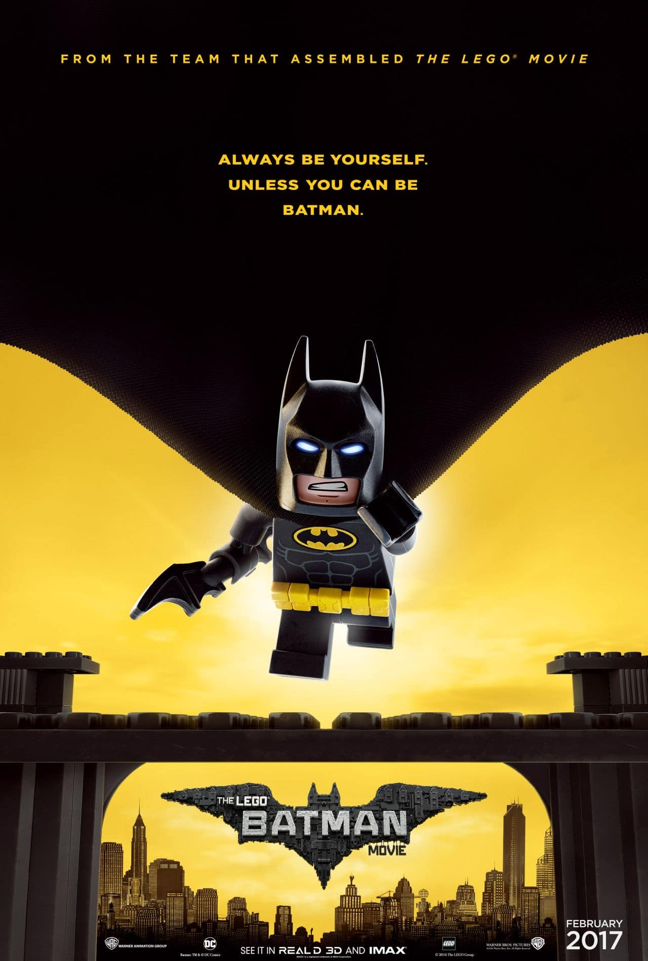 The LEGO Batman Movie Poster Released