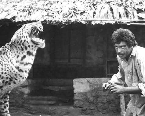 I.V. Sasi Recalls How Mammootty Shot With A Cheetah In Mrugaya