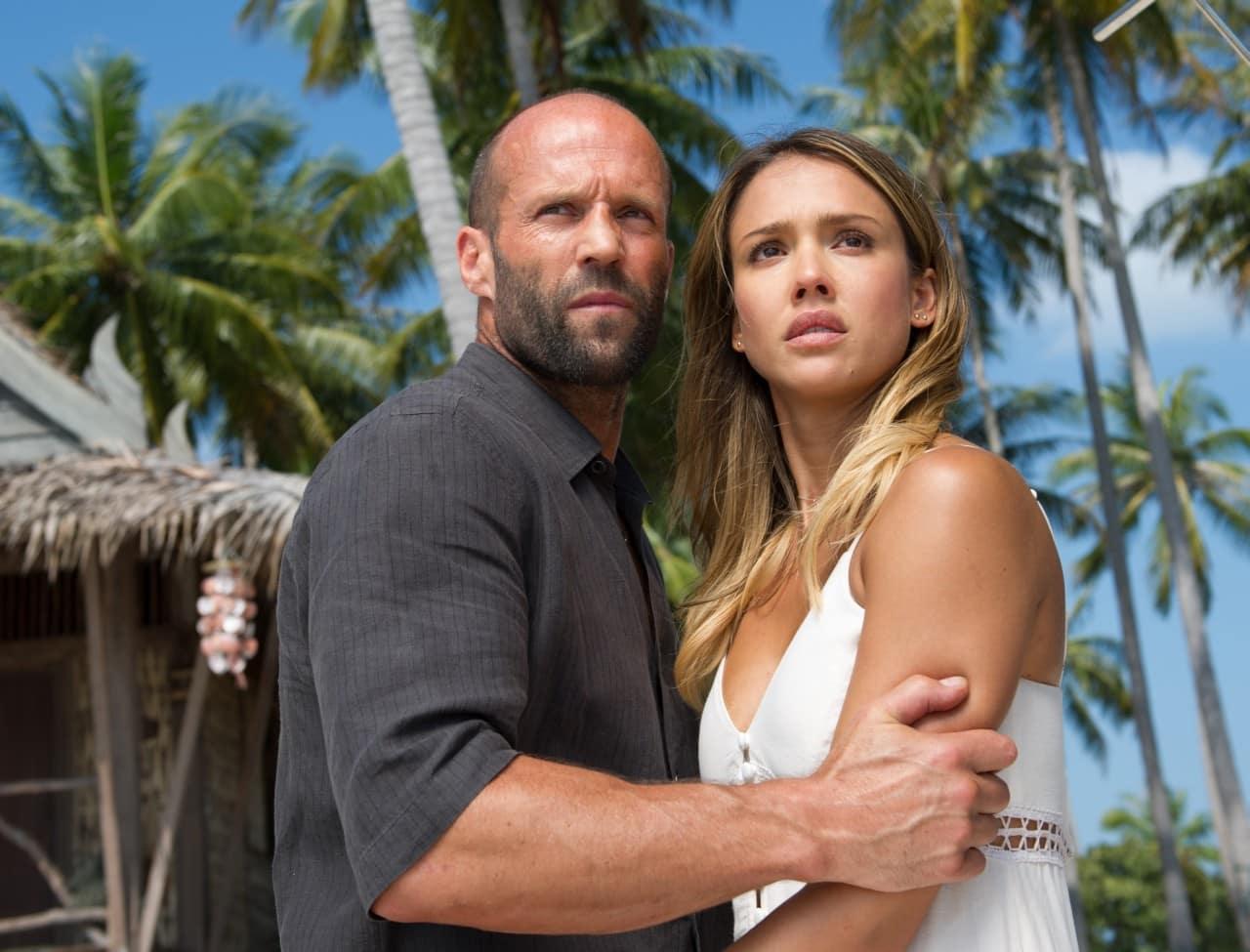 Jason Statham, Jessica Alba In Mechanic: Resurrection Image