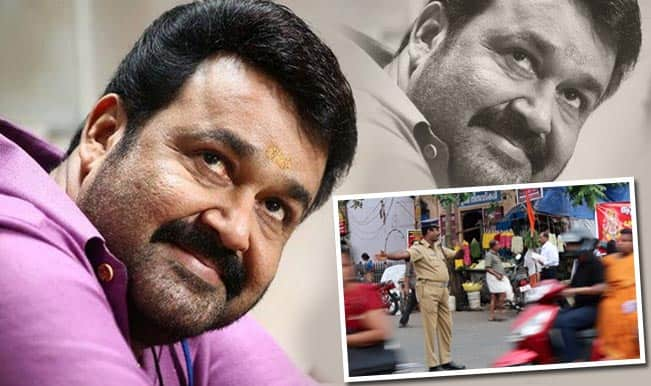 Mohanlal To Give Road Safety Tips To Moviegoers