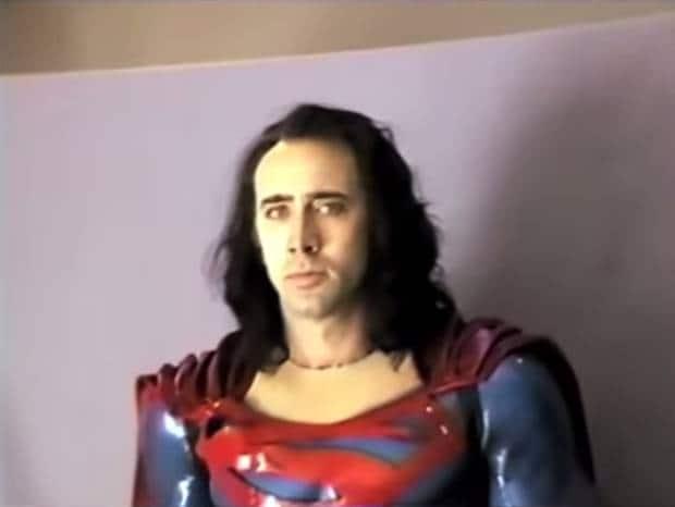 Nicolas Cage's Superman Did Not Live