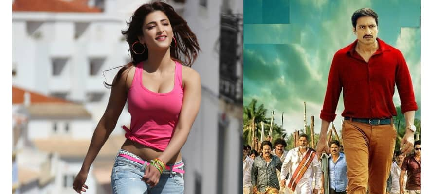 Gopichand's Oxygen Poster To Be Unveiled By Shruti Haasan