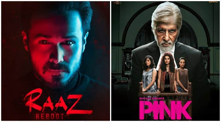 Box Office: Pink Shows Solid Jump, Raaz Reboot Drops Down