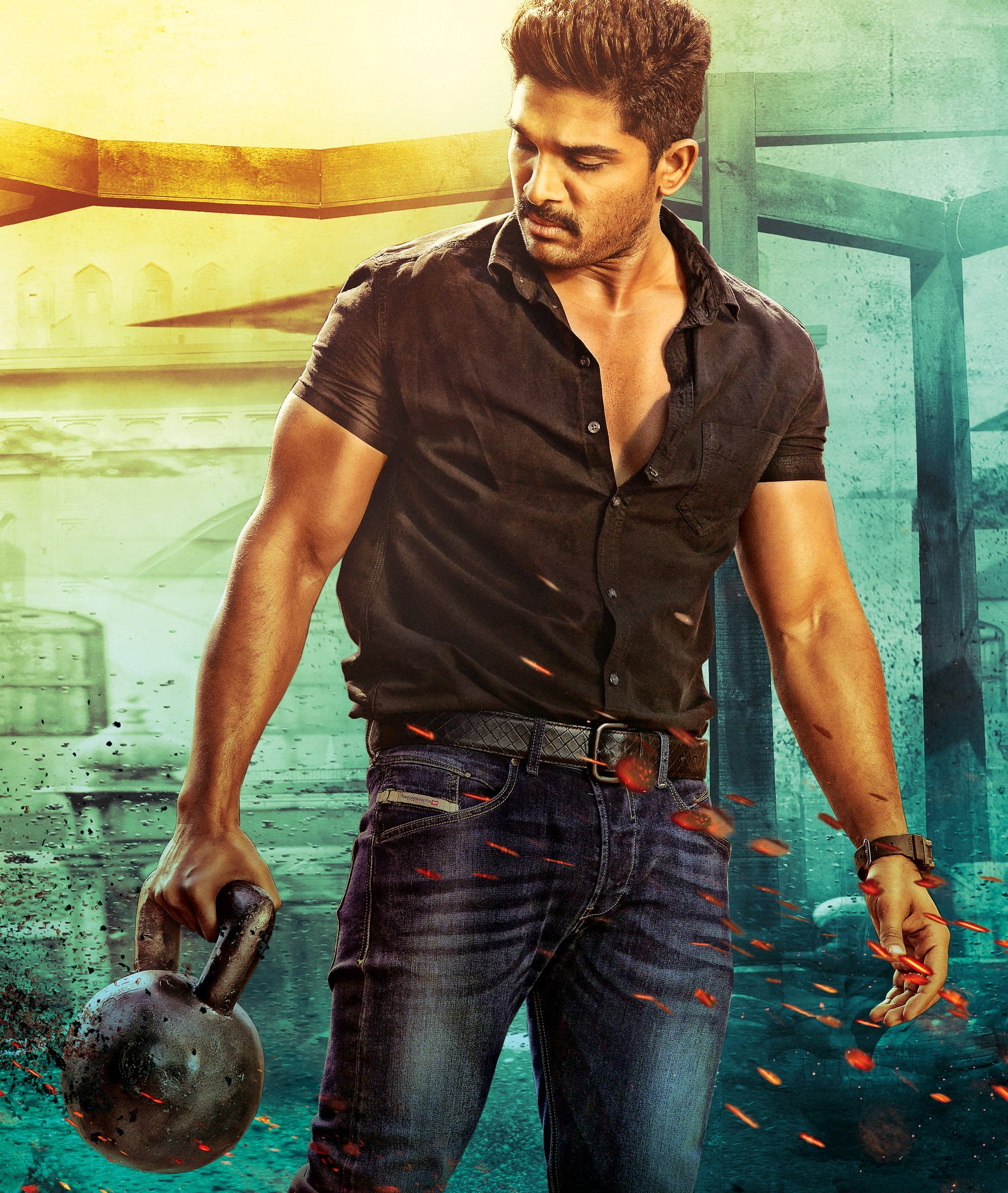 teaser of allu arjun's 'sarrainodu' to be screened in 1000 theatres