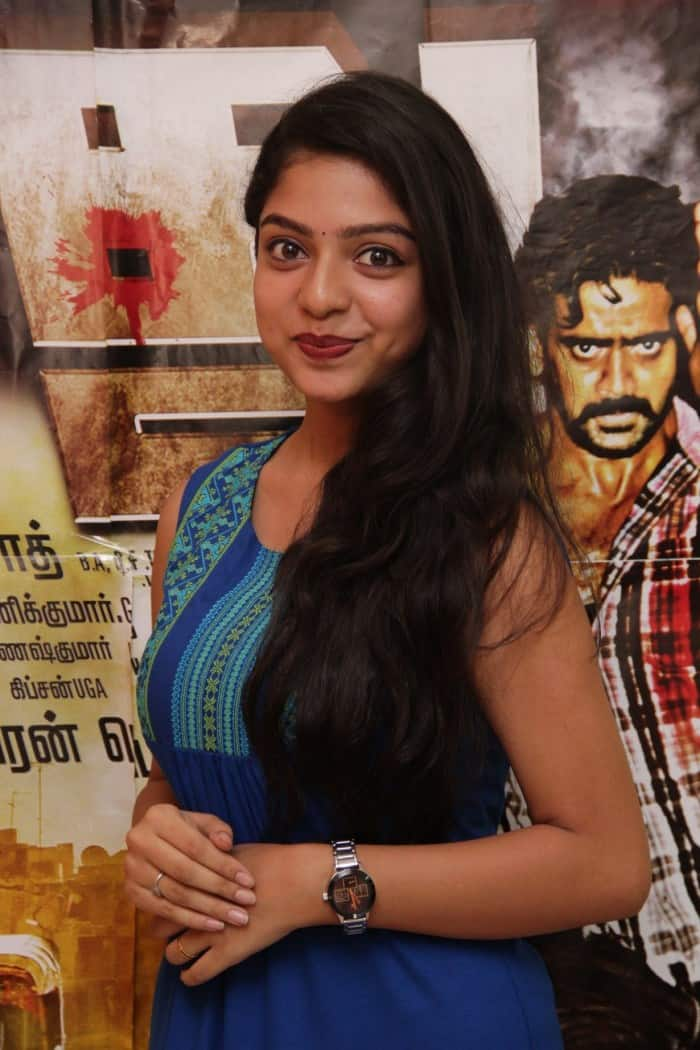 Varsha Opens Up About Her Role In Sasikumar's 'Vetrivel'