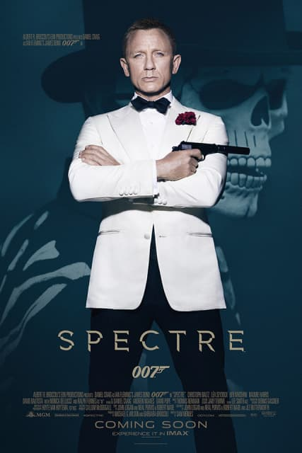 New Poster For Spectre Released