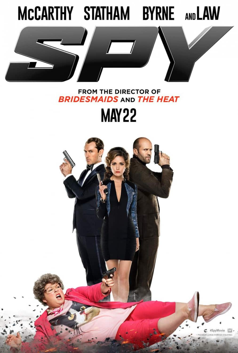 Spy tops box office with $30 million