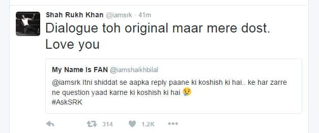 Shah Rukh Khan Hosted Q&A With Fans on Twitter & His Replies Are Awesome