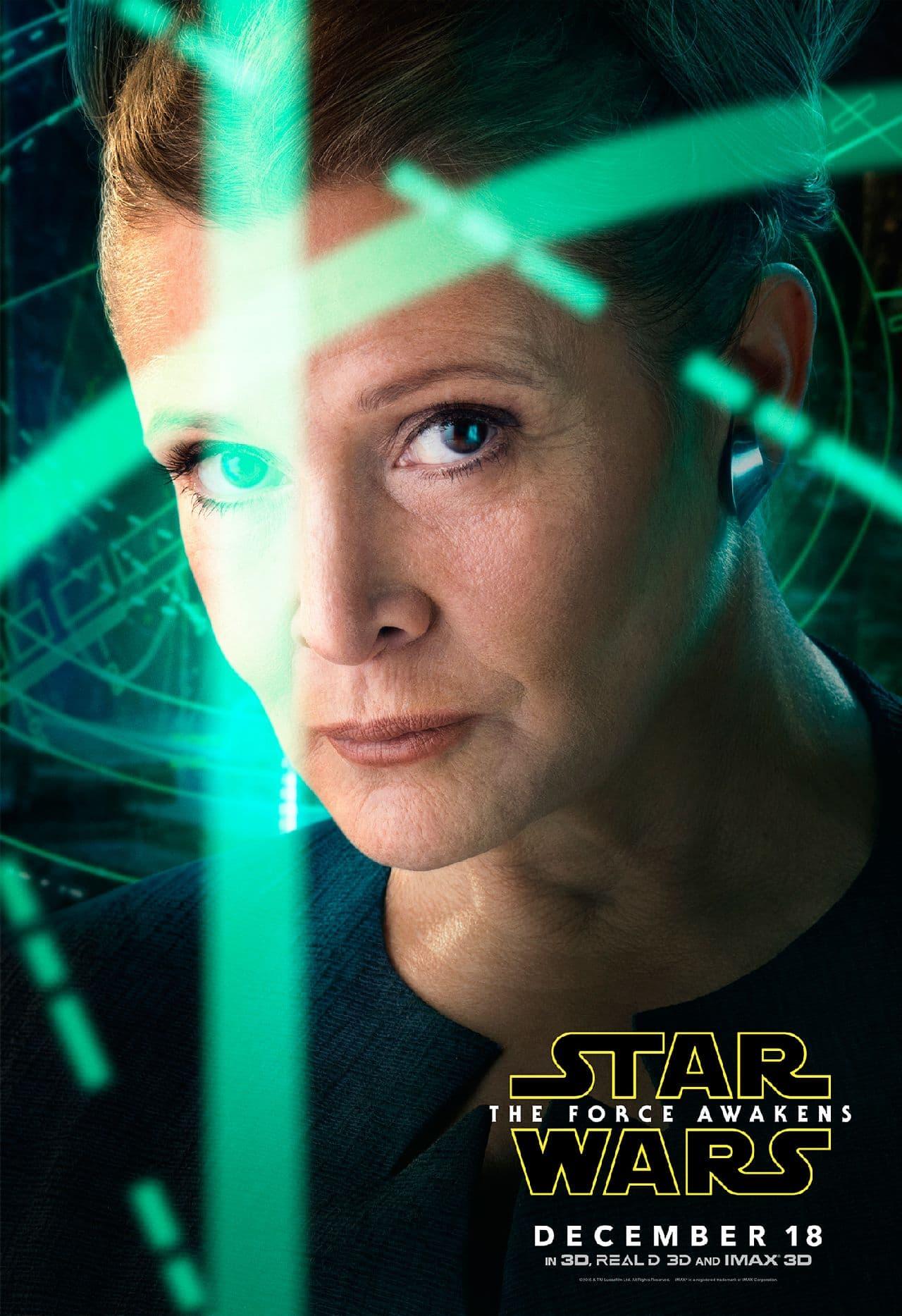 'स्टार वार्स: द फ़ोर्स अवेकन्स' का नया कैरैक्टर पोस्टर आया बाहर