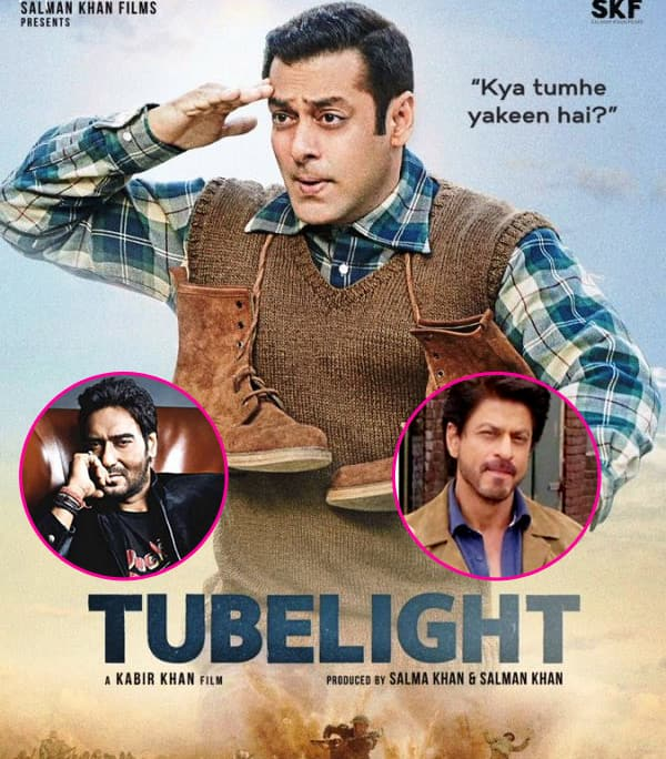 Here's What's Common Between SRK's The Ring, Ajay's Baadshaho And Salman's Tubelight!