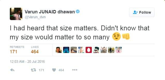 Varun Dhawan's Reply To His Trolls Made Us Give Him A Standing Ovation (Like Literally)!