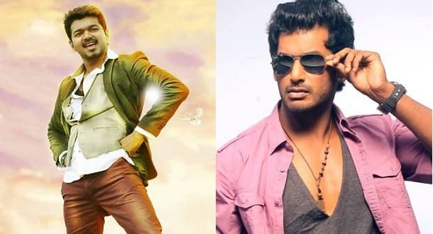Vishal's 'Kaththi Sandai' To Clash With Vijay's 'Bairavaa'
