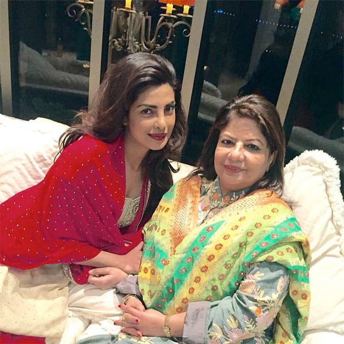 Priyanka Chopra's Mother Has Befitting Response To Trollers On Showing Off Her Legs When She Met Modi