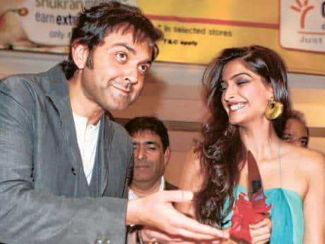 Image result for Sonam Kapoor and Bobby Deol