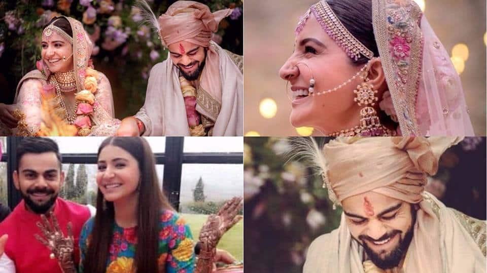 In Videos : Anushka Sharma and Virat Kohli's Haldi And Engagement Ceremony