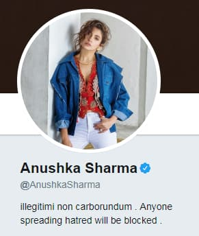 Top 10 Bollywood Celebrities Who Have The Best Twitter Bios