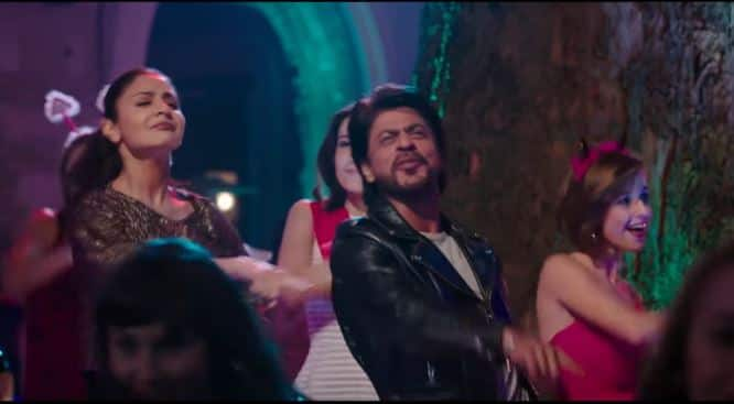 Shah Rukh And Anushka Look Like The Perfect Partners In Crime In Beech Beech Mein From JHMS