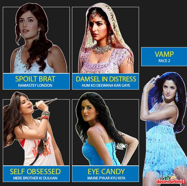 5 Characters Almost All The Leading Bollywood Actresses Have Played In One Film Or Another
