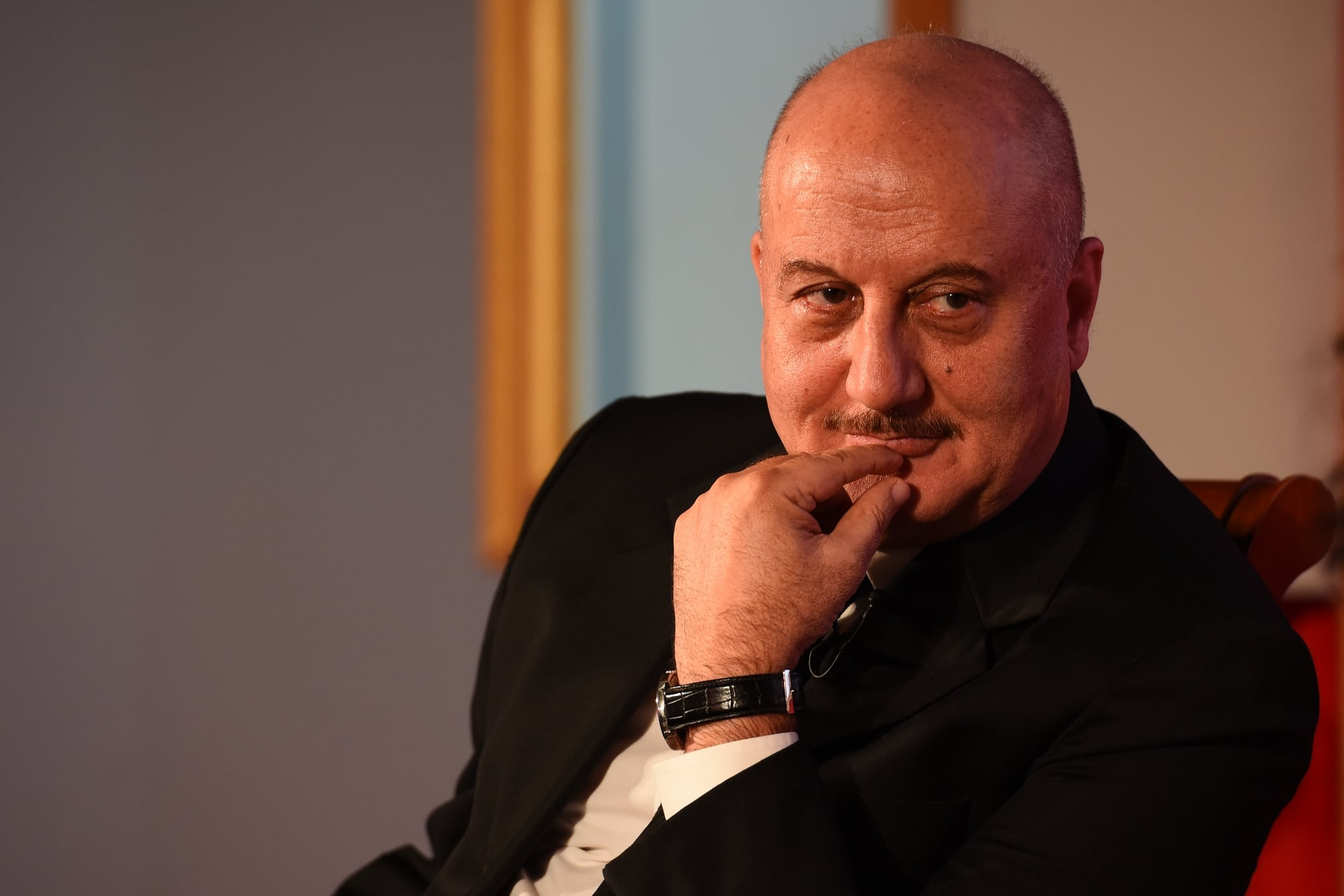 Anupam Kher To Make His Kannada Debut With Acharya Arrest?