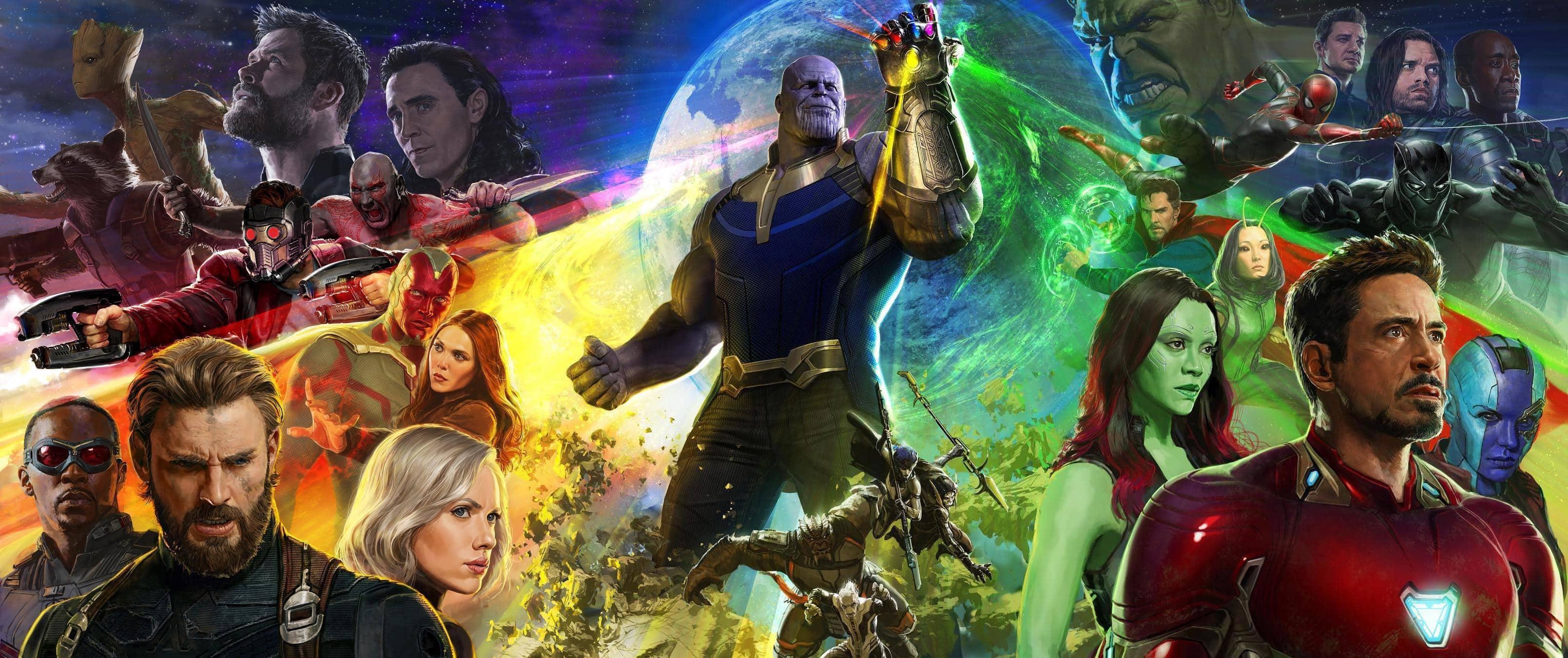 avengers: infinity war, deadpool 2, aquaman: all the superhero movi
