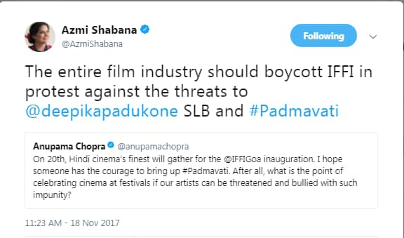 Padmaavat Row LIVE Update: Karni Sena Stoops To New Low By Announcing A Film On Sanjay Leela Bhansali's Mother