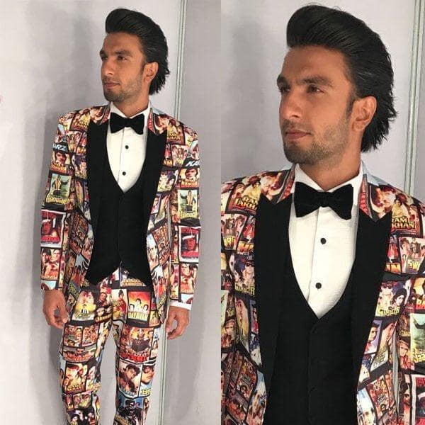 Gallery- Filmfare Awards 2018: Ranveer Singh Proves He's The Biggest Bollywood Buff; Preity Is Pretty In Pink!