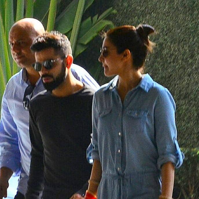 Gallery- Spotted: Virat & Anushka's First Pictures Ahead Of Their Mumbai Reception At St Regis