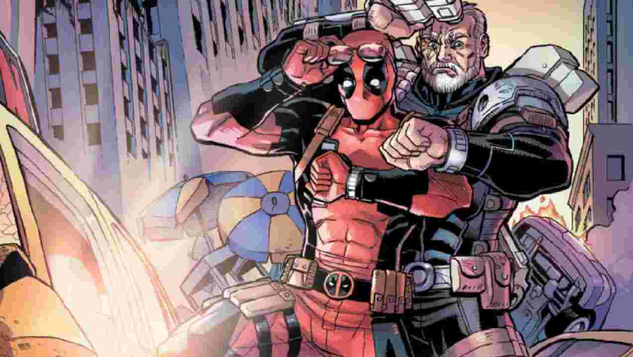 Marvel Superheroes Deadpool And Cable To Travel Time Together
