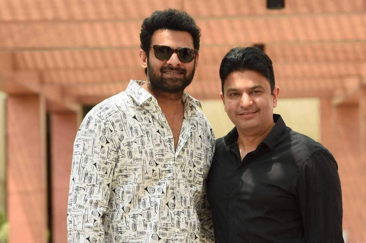 Bhushan Kumar Joins Hands With Superstar Prabhas & UV Creations, One Of The Leading Production Houses In The South
