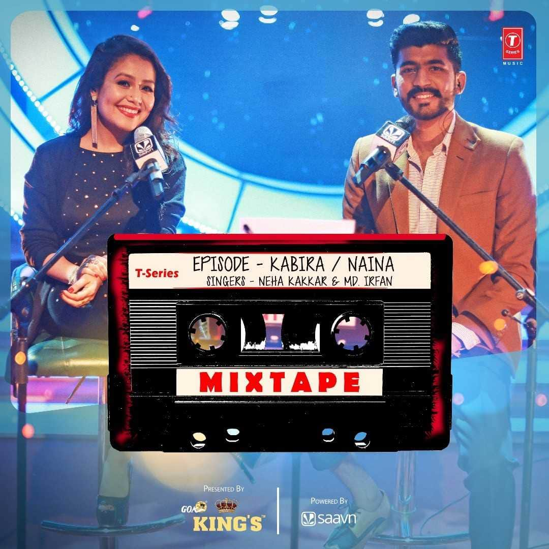 Watch: Neha Kakkar And Mohd Irfan Re Create 'Kabira' And 'Naina' In The Most Magical Way On T Series Mixed Tape