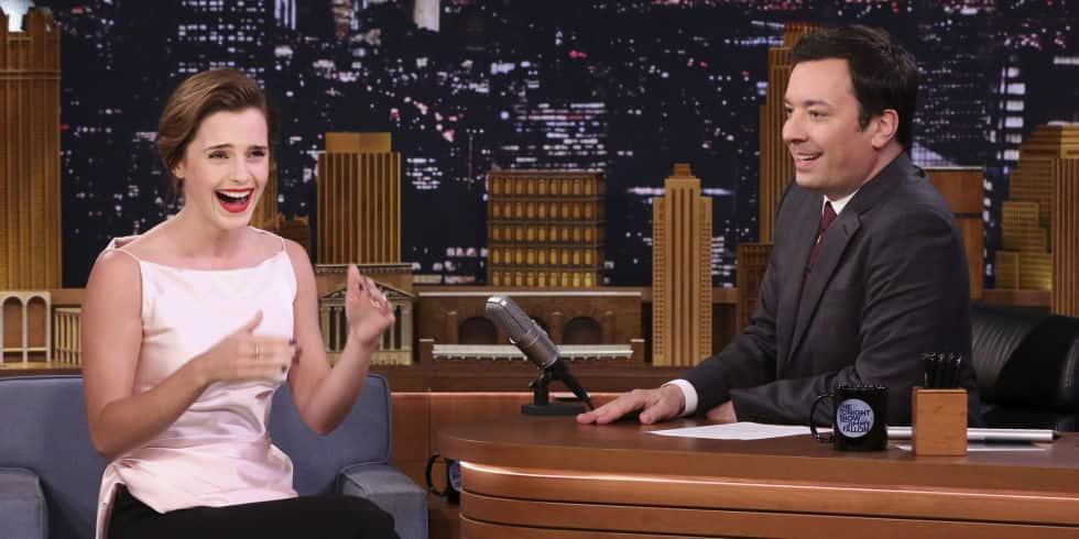 Emma Watson Mistook Jimmy Fallon For Jimmy Kimmel