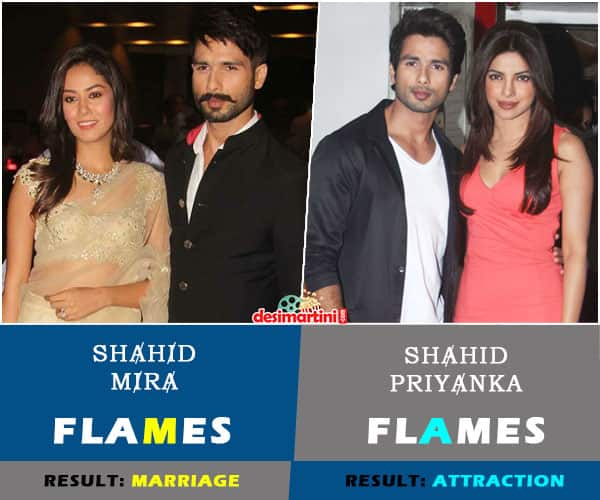The FLAMES Of Bollywood Stars With Their Current Partners And Their Exes Are Unbelievable