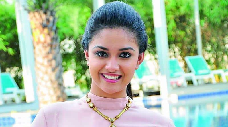 Keerthy Suresh Debuts Dubbing For Herself In Tollywood
