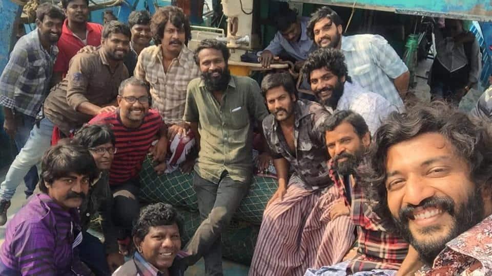 Dhanush's Wraps Vada Chennai Shooting