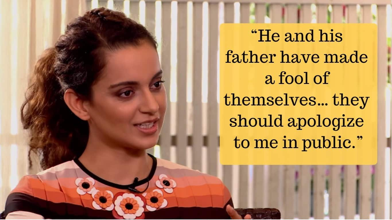 Here's How Kangana Ranaut Answered 7 Major Questions On All Her Controversies Without Being Politically Correct!