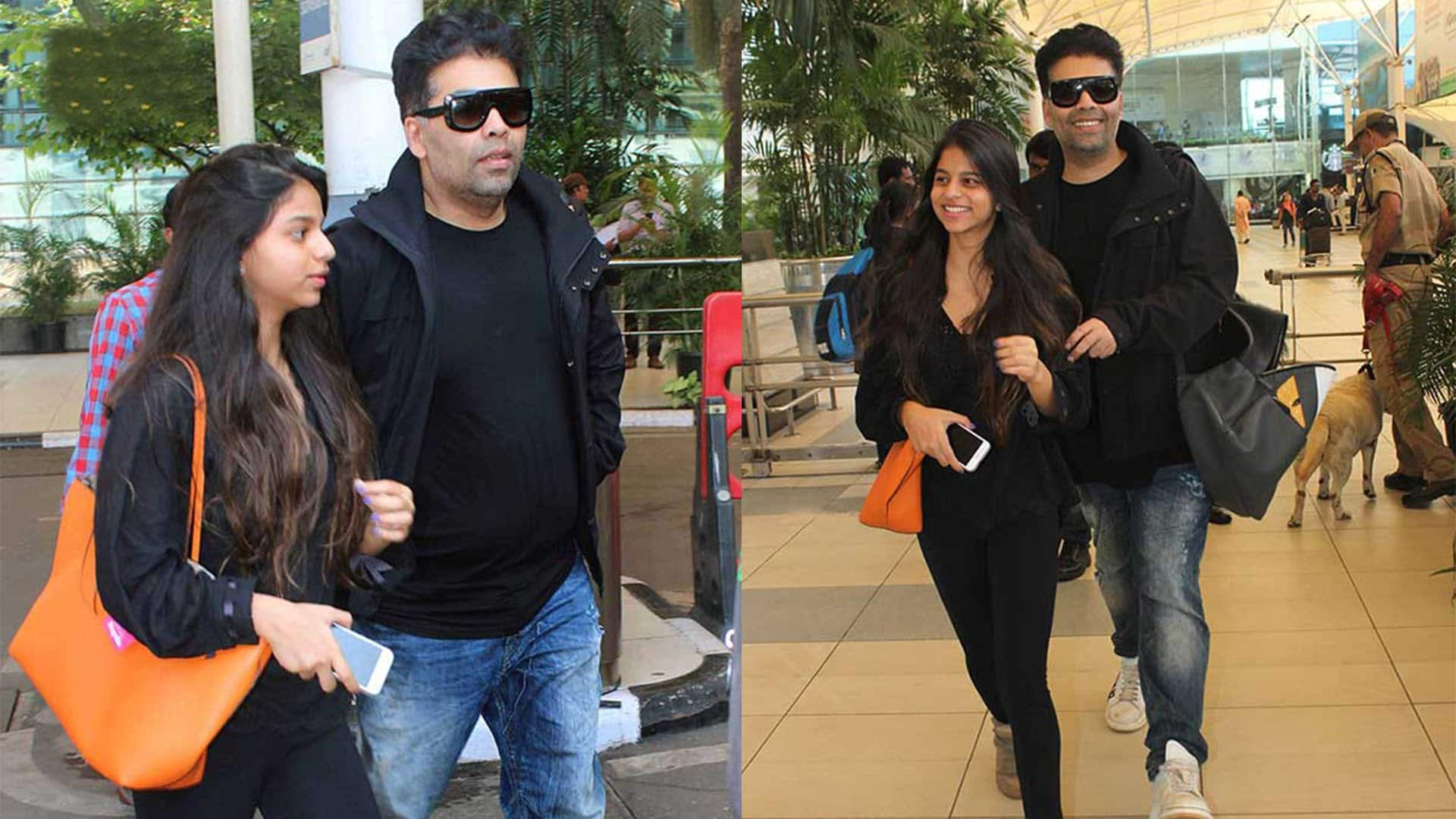 Could Godfather KJo Preparing Suhana To Follow Her Father King Khan's Footsteps?