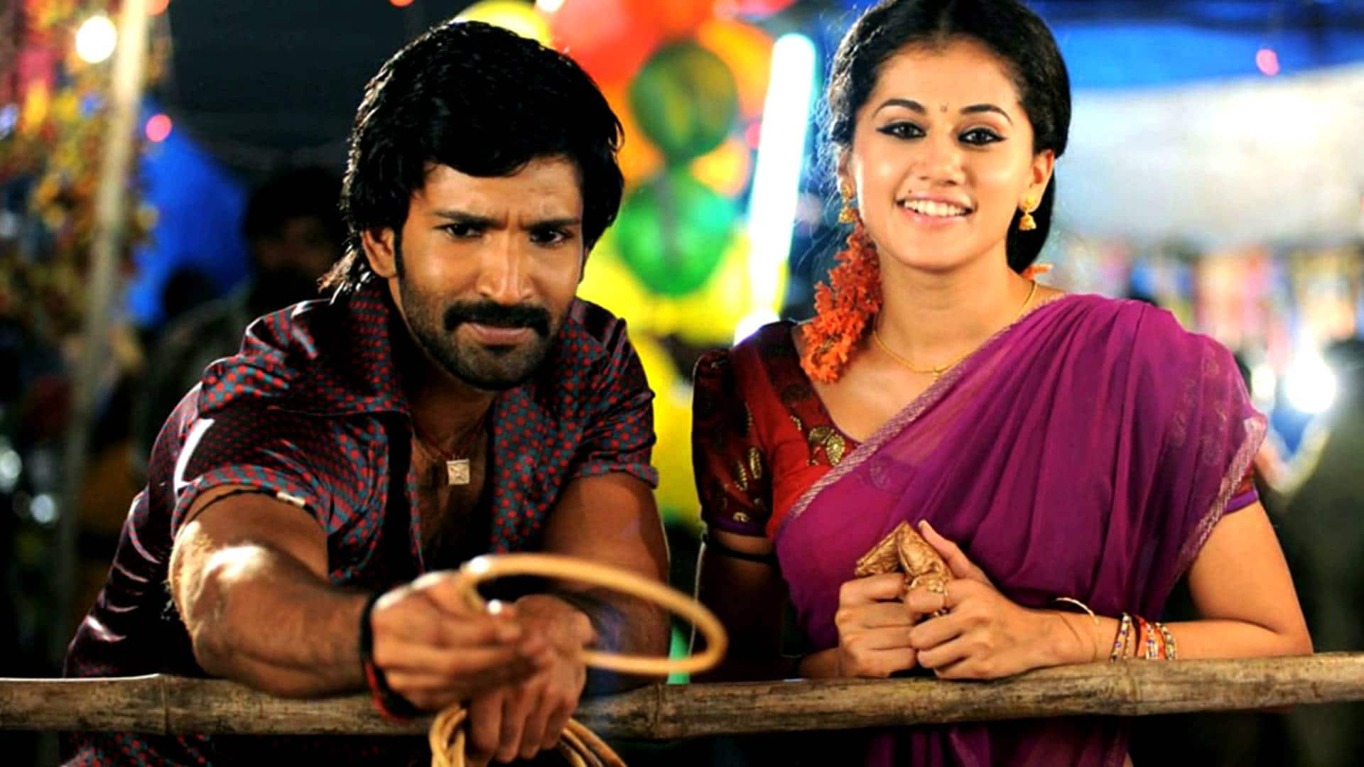 Aadhi And Tapsee Pannu To Reunite For Hari's Next Flick