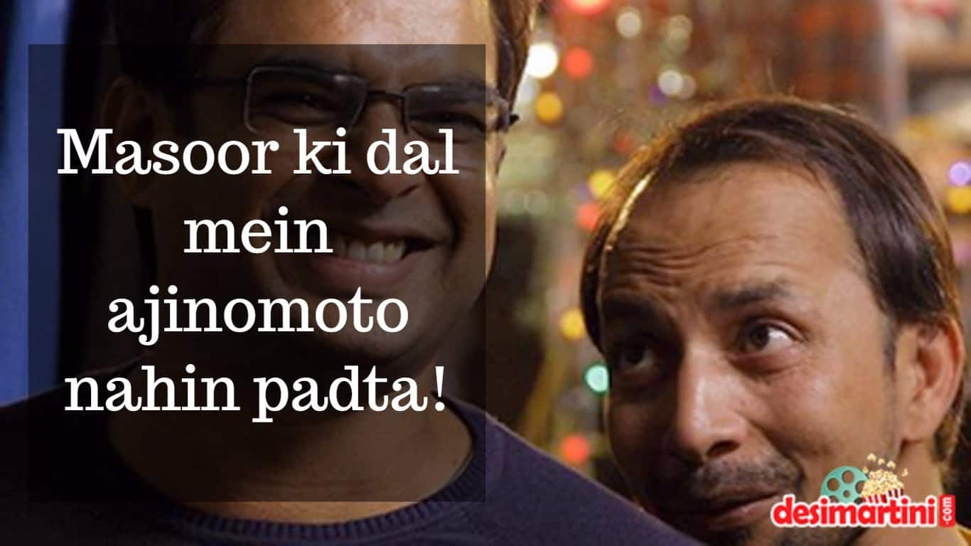 7 Pappi Worthy Dialogues Of Deepak Dobriyal