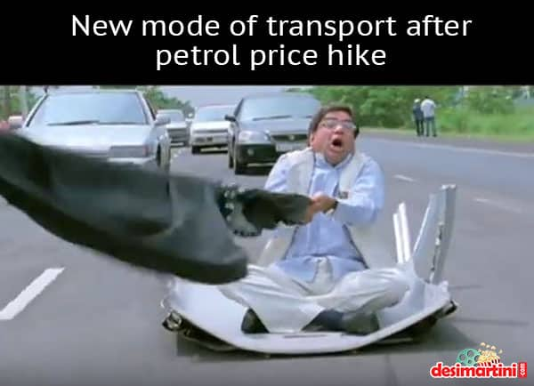 7 Hilarious Memes That Perfectly Capture The Madness Of Petrol Price Hike