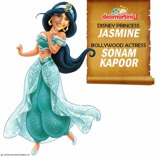 If Bollywood Actresses Were Disney Princesses, Here's What They'd Be!