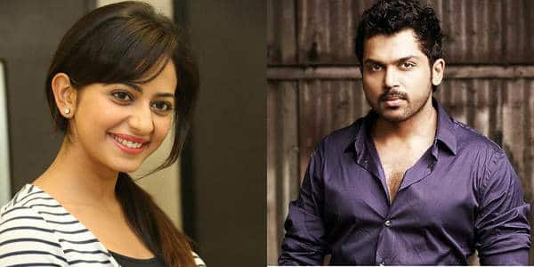 Rakul Preet Singh, Karthi To Collaborate For Another Venture