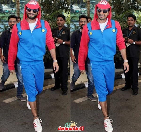 Proof - That No Other Actor In Bollywood Can Do Quirky Outfits As Well As Ranveer Singh!