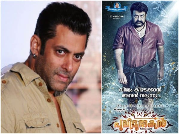Remake Of Mohanlal's Pulimurugan On The Cards For Salman Khan?
