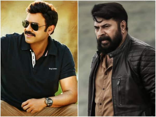 Venkatesh To Play Mammootty's Role In The Remake Of 'The Great Father'