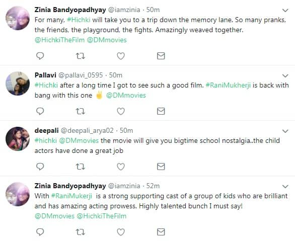 Hichki Reactions: See What The Audiences Are Saying About Rani's Comeback Film