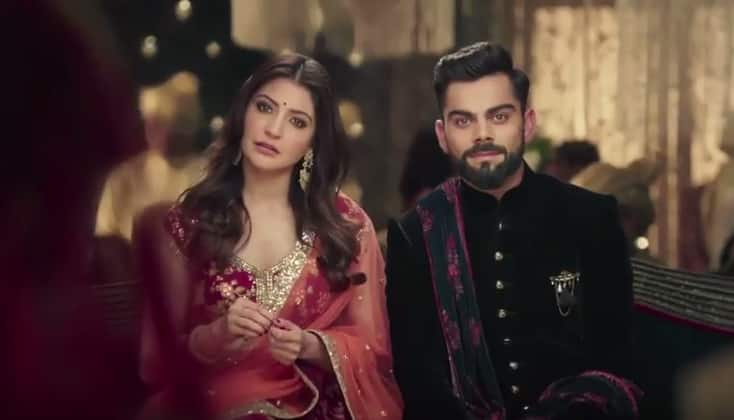 WATCH: Virat And Anushka Discuss Their Seven Wedding Vows In The Latest TVC For Manyavar!