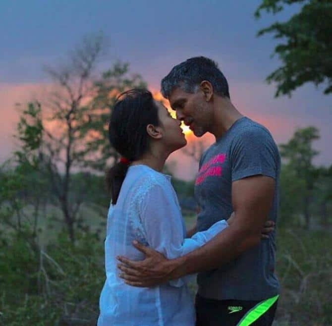Milind Soman and Ankita Konwar Has Been Engaged For Long and Somehow We Never Noticed