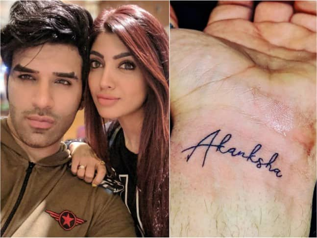 Paras Chhabra Finally Removes His 'Akanksha' Tattoo Replaces It With The Bigg Boss Eye